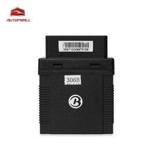 GPS del coche Perseguidor GPS306B OBDII Interfaz Del Vehículo Localizador 2.4G Vehículo de Gestión de Asistencia de Mantenimiento de Notificación
