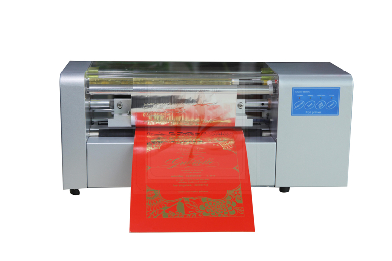 Free tax to Russia ,no tax LY 400B foil press machine digital hot foil stamping printer machine color business card printing no tax to russia