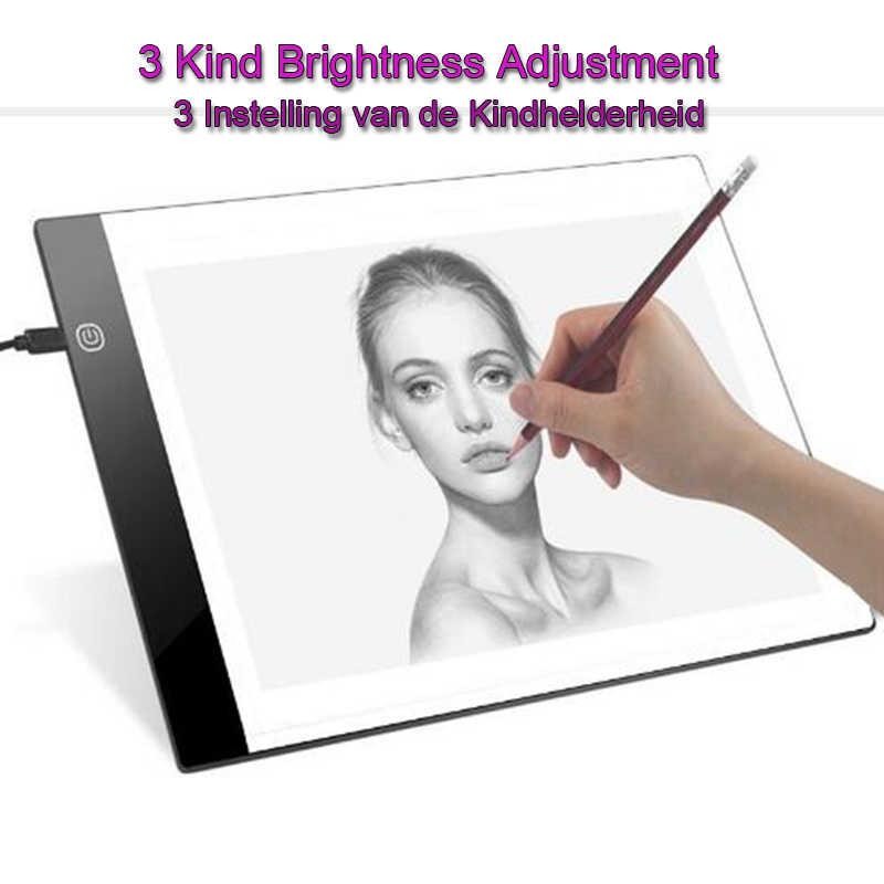 ... 2019 new diamond painting A4 LED lightpad Thin Art Drawing Board Light  Box Tracing Writing Portable ... 281f9eb57ebc