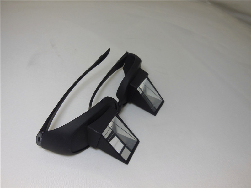 Black Lazy Readers Eyeglass Read Horizontal Glasses for Reading Watching TV Parents Gift