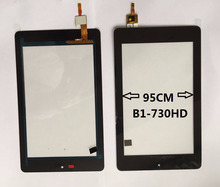 7 zoll für acer iconia one 7 b1-730hd b1-730 touch Screen Panel Digitizer Sensor Glas Schwarz farbe auf lager freies verschiffen