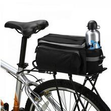 Bicycle Bag Cycling Pannier Rear Seat Bag Rack Trunk Multifunctional Shoulder Handbag Bike Backpack Accessories Seat HandBag цена