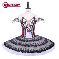 New Arrival Black Adult Ballet Tutu Stage Wear Women Ballet Dance Competition Costumes Girls Red Ballet Skirt Children Dresses