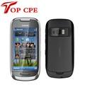 C7 восстановленное Оригинал NOKIA C7 3G WI-FI GPS 8MP Bluetooth Ява Разблокировать Мобильный Телефон Бесплатная Доставка