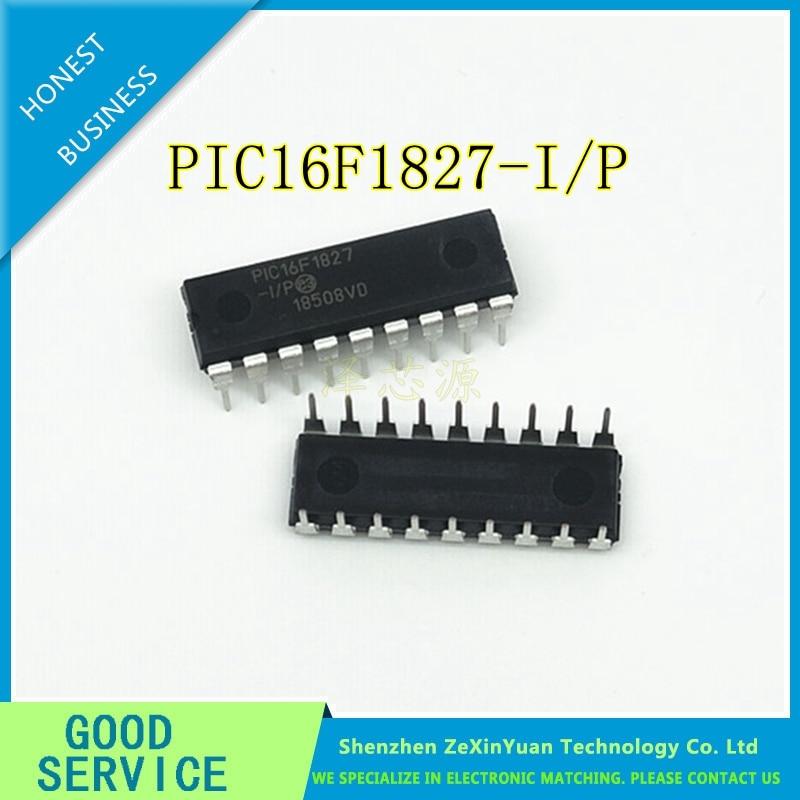 10PCS/LOT PIC16F1827-I/P PIC16F1827 16F1827 DIP18 NEW