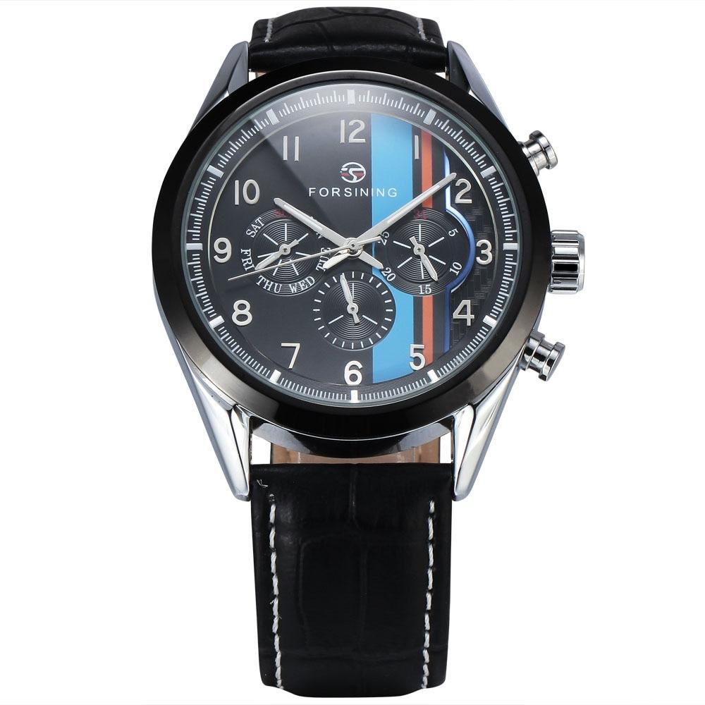 FORSINING Luxury Brand Mechancial Watches font b Men b font Male Multifunction font b Clock b