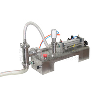 SHENLIN Liquid filling machine 10 100ml 110V/220V water bottling machine piston filler food safe filling equipment cream and oil