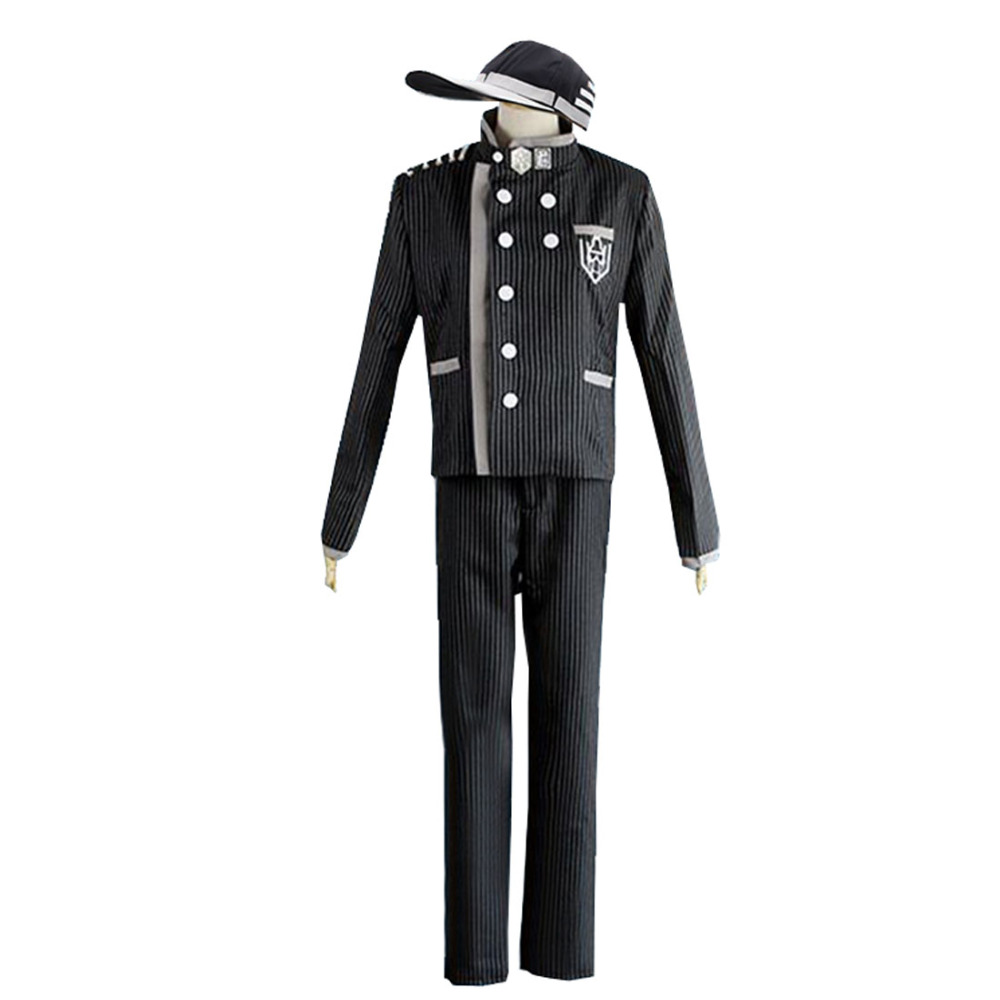 2018 New Danganronpa V3 Saihara Shuichi Cosplay Costume Full Set