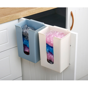 Image 2 - 1PCS Kitchen Organizer Rubbish Bag Storage Holders Racks Home Tissue Towel Hanging Container Products Cabinet Stand Garbage Bags