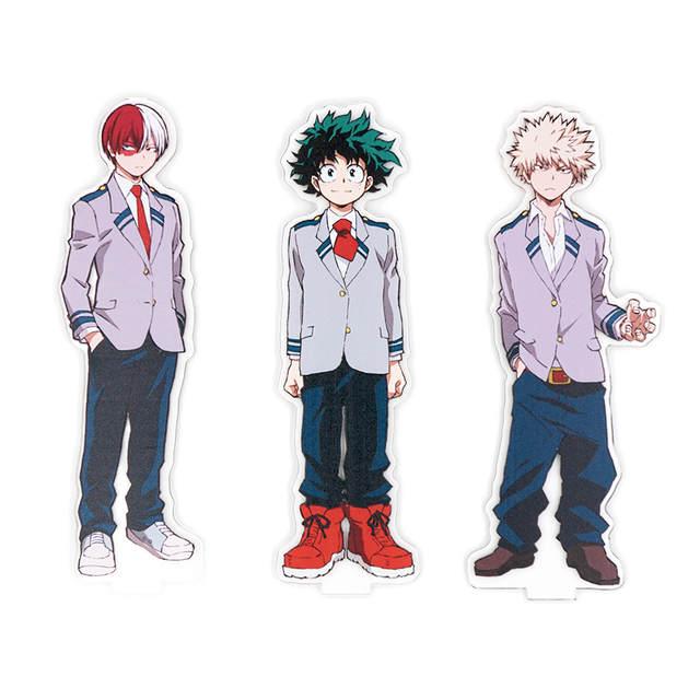 Us 5 2 20 Off My Hero Academia Anime Boku No Hero Academia Midoriya Izuku Bakugou Katsuki Eijiro Aizawa Todoroki Shoto Acrylic Stand In Action Toy