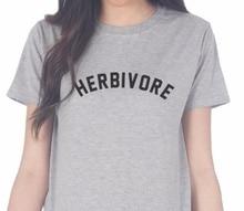 Cute HERBIVORE girlie / women's shirt / 3 colors
