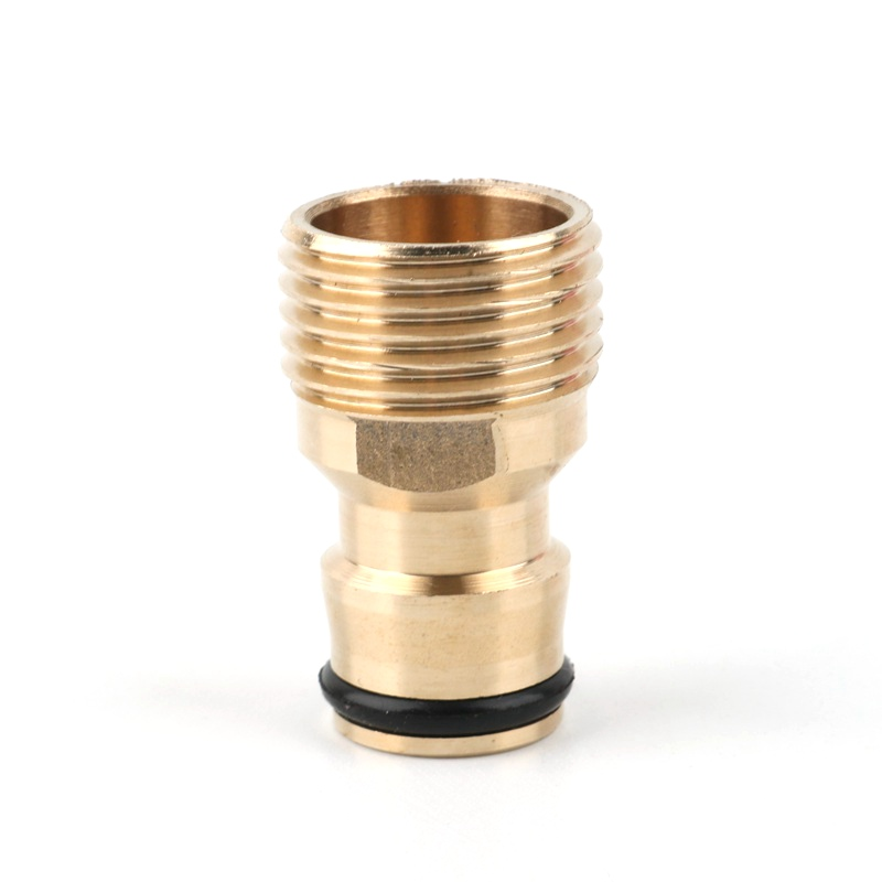 """1pc 1/2"""" Thread Tap Brass Garden Hose Connector Quick Hose Adaptor Accessories Garden Connector Watering Spray Nozzle"""