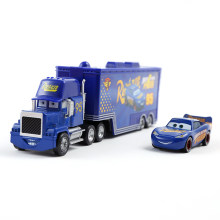 Disney Pixar Car 2 3 Toy Lightning McQueen Jackson Storm Mac Uncle Truck 1:55 Alloy Diecast Car Model Car Toy Christmas Gift(China)