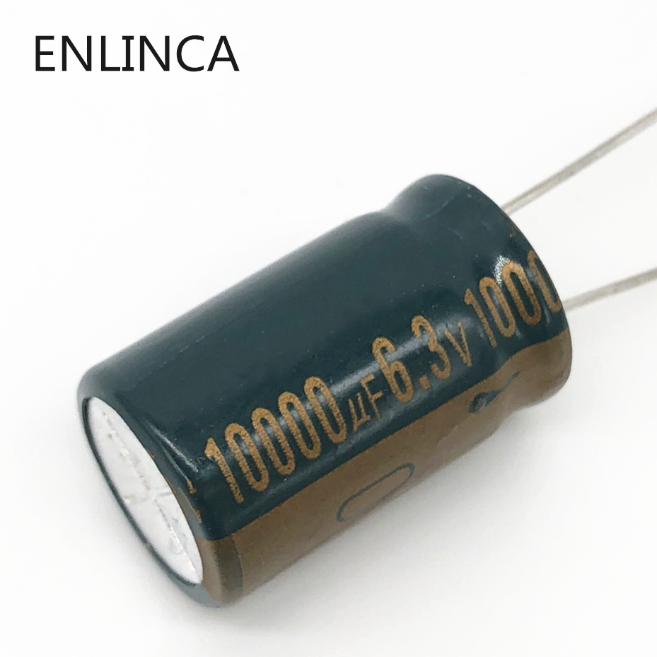 1pcs/lot 6.3v 10000UF 16*25 Low ESR / Impedance High Frequency Aluminum Electrolytic Capacitor 10000UF 6.3v  16*25 20%