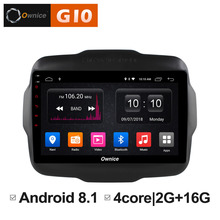 Android 8.1 Unit Intelligent System Car Pad Multimedia Player For JEEP Renegade