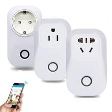 Wireless wifi timer plug automation modules 10A smart home socket EU US UK CN 3G 4G Wireless remote control PK sonoff