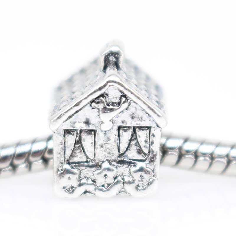 1pcs french bulldog bijoux sieraden bracciale house charms fit สร้อยข้อมือ plata de ley 925 original น้ำหอม mujer เครื่องประดับลูกปัด