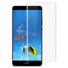 Huawei mate 9 протектор экрана 5.9 дюймов imak huawei mate 9 3d мягкий взрывозащищенные прозрачный пэт фильм полный экран крышка