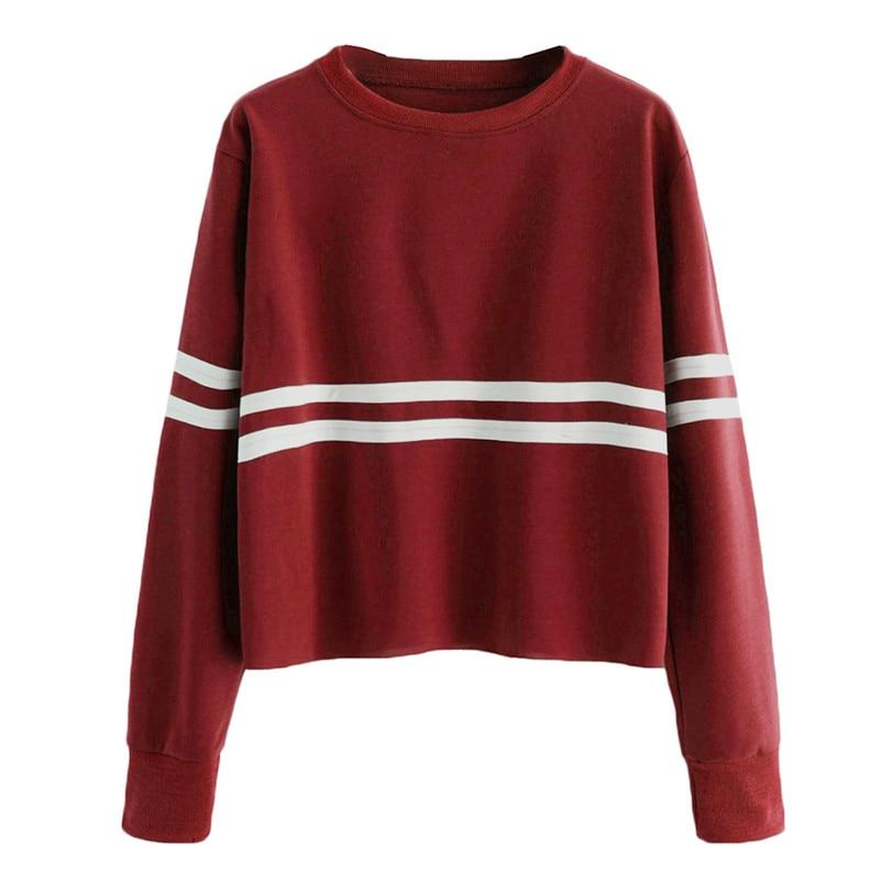 Ladies Pure Casual Cat Long Sleeve Stitching Hoodie Jersey Blouse Korean Style Sweatshirt #xqx Women's Clothing