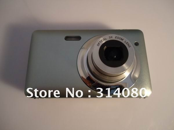 Free-shipping + digital video camera 2.7'' 3X Optical zoom, 4X Digital zoom, Built-in Battery