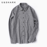 High Quality Slim Fit Plaid Dress Shirts Mens Smart Casual Shirt Man Long Sleeve Cotton100 Shirt