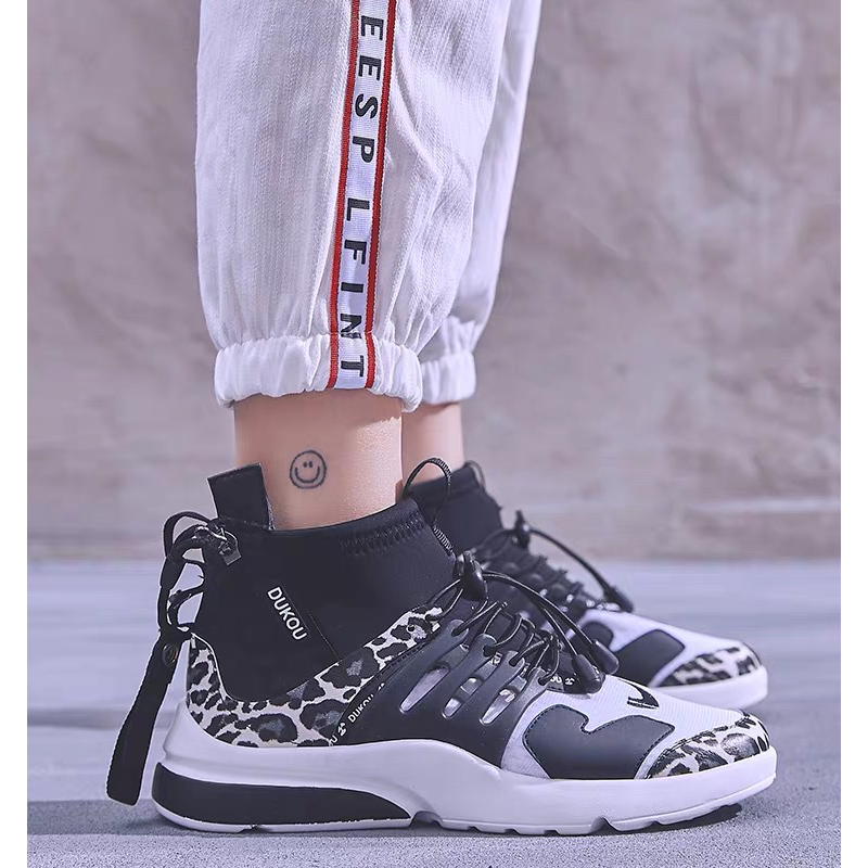 2a5e891127 Dumoo New 2019 Spring Sneakers Shoes Women Fashion Ladies Lycra Running  Shoes Heel 5cm Female Zapatillas