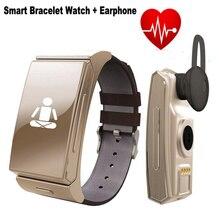 2016ใหม่U Watch U20 Uminiนาฬิกาสร้อยข้อมือสมาร์ท+หูฟังชุดหูฟังMTK2502 H Eart Rate MonitorบลูทูธออกกำลังกายติดตามF69 F68