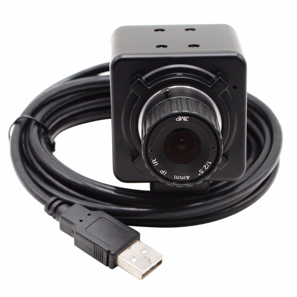 CS 4mm 6mm 8mm 12mm Aptina AR0331 WDR H.264 2MP 1080P OTG UVC Plug Play USB Camera with Mini Case