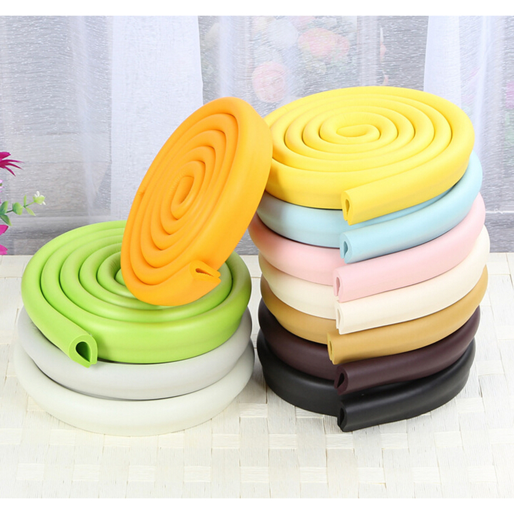 2m U Style New Baby Bumper Strip Baby Safety Corner Protector Glass Table  Edge Corner Guards