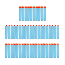 50PCs 7.2cm Refill Darts Sucker Head Toy Bullets for Nerf Soft Series Toy Rifle Blasters Darts