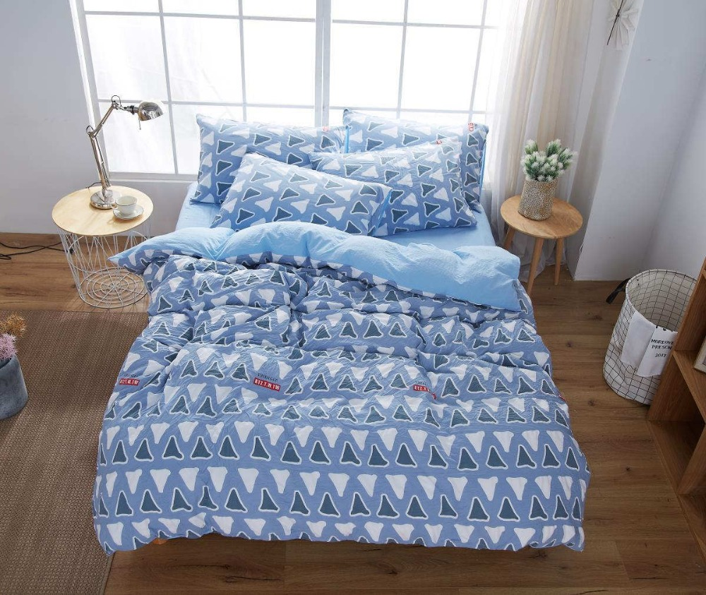 Cotton Bed Linen Sale Us 60 Hot Sale Bedspread Comforter Bedding Sets Plain Linen Cotton Bed Sheet Plaid Solid Color Bed Linen Set Queen Size Red Blue White In Bedding