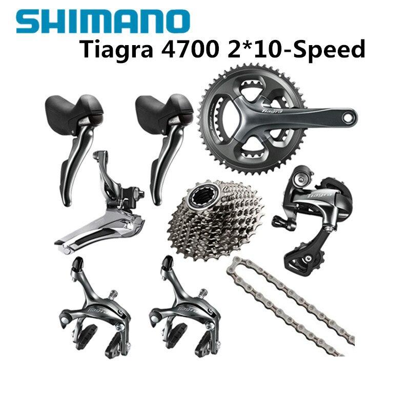Shimano TIAGRA 4700 10 2*10 Speed 50/34 52/36 170mm 172