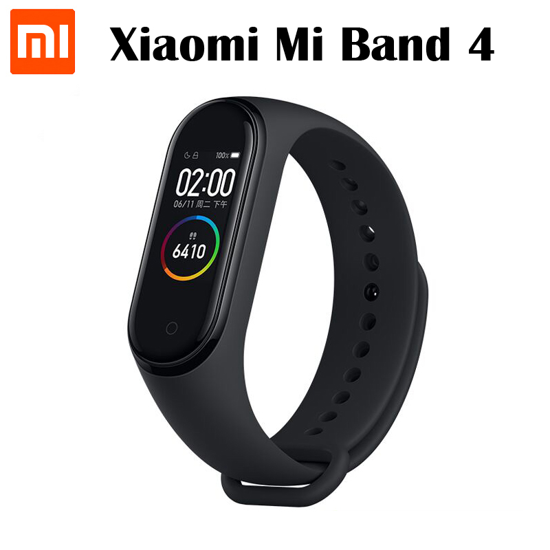 Original Xiaomi Mi Band 4 Smart Bracelet Bluetooth 5.0 Heart Rate Fitness Xiaomi band 4 0.95inch AMOLED Screen