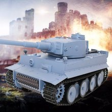 RC 1/16 Scale Shooting BB Bullets Tank Set RC Military Car Remote Control Model Toy Gift Vehicle with 320 Rotate 30 lift