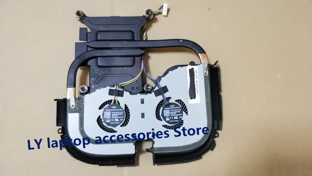 Genuine HP Elite Slice Heatsink and Fan 909672-001 902410-001