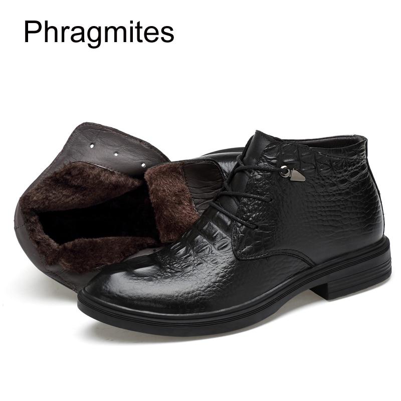 02 Taille Noir Imprimé D'hiver Noir Hommes Beau Black En Personnalité 47 Cuir Chelsea 35 Véritable Mujer Botas Bottes Phragmites Chaussures qYUwU