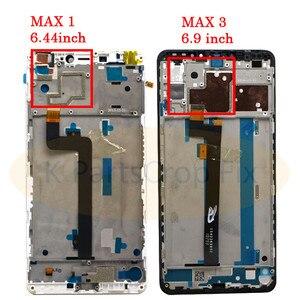 Image 3 - 6.9 XIAOMI Mi מקסימום 3 LCD תצוגת מסך מגע Digitizer עצרת החלפת מסך עבור Mi מקסימום LCD תצוגה עם מסגרת