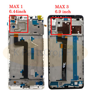 Image 3 - 6.9XIAOMI Mi Max 3 LCD Display Touch Screen Digitizer Assembly Replacement Screen for Mi Max LCD Display with Frame