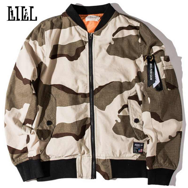 Militaire Stijl Camouflage Bomber Jassen Mannen Vrouwen Lente Casual Baseball Jacket Man Retro Leger Jas Lucht Vliegende Veste, UMA450
