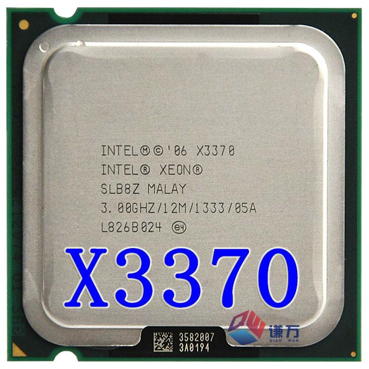 Prix pour Intel Xeon X3370 SLB8Z 3.0 GHz/12 MB/1333 MHz Socket LGA775 de travail 100% Livraison Gratuite