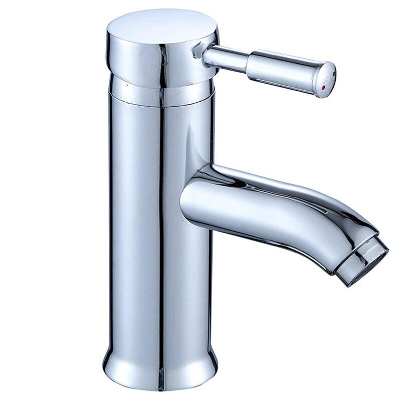 Смеситель для раковины для кухни с одной ручкой, смеситель для горячей и холодной воды, смеситель для раковины, кран для раковины для ванной ...