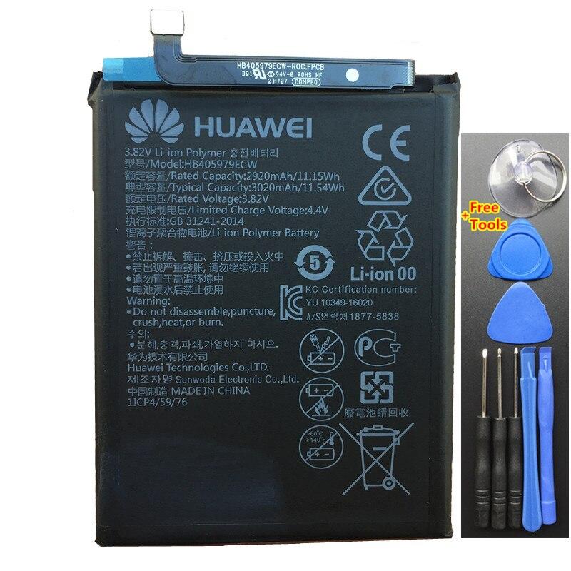New 3020 mAh Bateria Para Huawei Honor HB405979ECW 7A 7 S DUA-L22 DUA-LX2 Nova Inteligente DIG-L01 DIG-L21 DIG-L21HN + Ferramentas