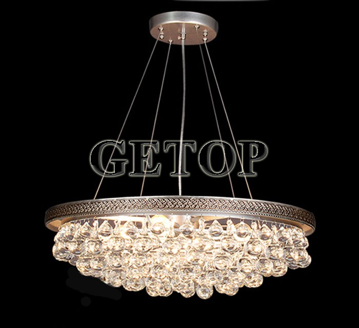 Z American Country K9 Crystal Chandelier E27 LED Lamp Study Bedroom Chandeliers lustres pendents Hanging Lamps Lighting Fixture wrought iron chandelier island country vintage style chandeliers flush mount painting lighting fixture lamp empress chandeliers