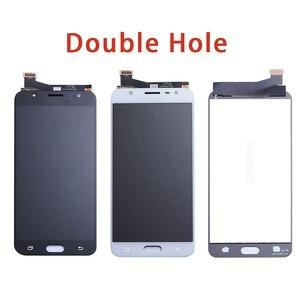 Image 3 - LCD Digitizer เต็มรูปแบบสำหรับ Samsung Galaxy J7 Prime G610 G610F On7 2016 G6100 จอแสดงผลจอสัมผัสคู่