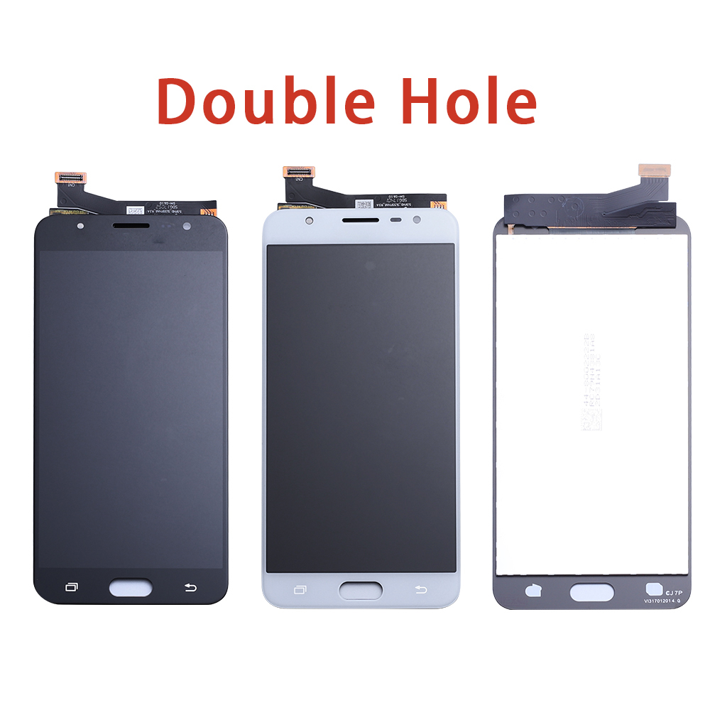 Image 3 - LCD Replacement full Digitizer For Samsung Galaxy J7 Prime G610 G610F On7 2016 G6100 Display Touch Screen Assembly Double Holes-in Mobile Phone LCD Screens from Cellphones & Telecommunications