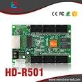 HD-R501 12 * HUB75 High-Definition Tela de Vídeo Full Color Display LED Recebe O Cartão de Trabalho Com O Envio de Cartão A60x, A30, C10, C30