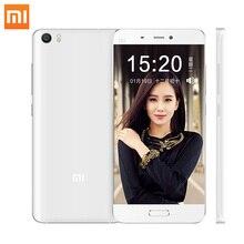 Оригинал Xiaomi Mi5 смартфон Mi 5 Snapdragon 820 3 ГБ RAM 32 ГБ ROM 3000 мАч Dual Sim-карта 4 К Видео Мобильные Телефоны Смартфон