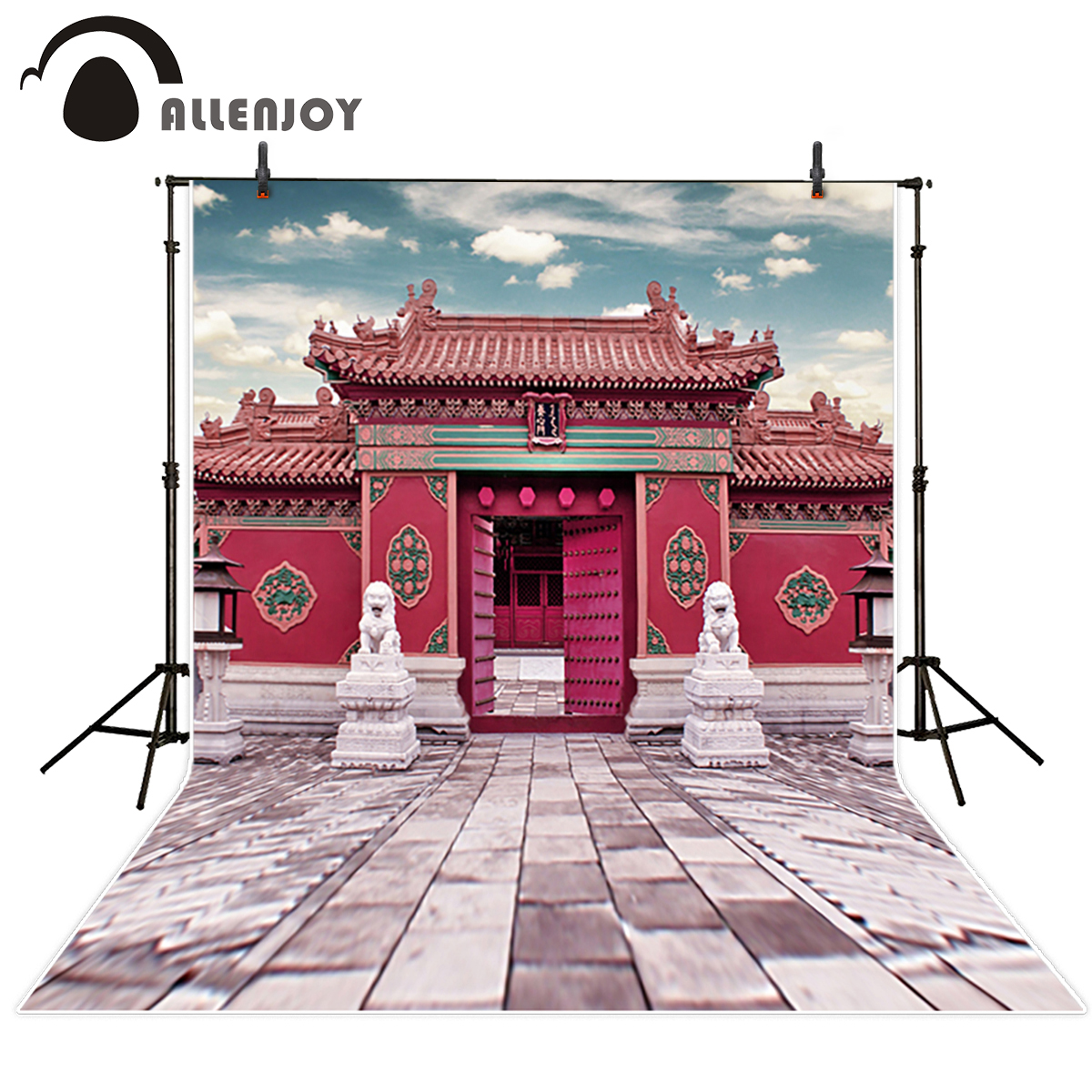 Online Shop Allenjoy New Photography Background China Style Palace