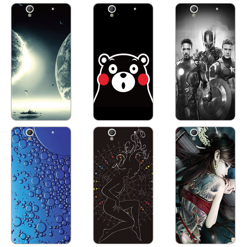 Soft Phone Cases For Sony Xperia C4 Dual E5333 E5306 E5303 E5353 E5343 E5363 Cases Back Covers Skin Bags For Sony Xperia c4 C4