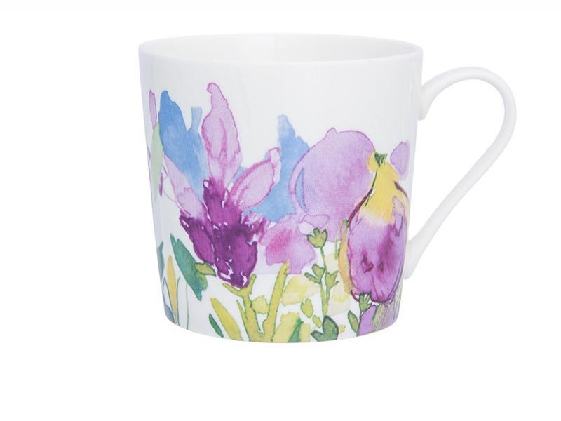 Mug Elan Gallery, Irises, 380 ml mug elan gallery royal 300 ml